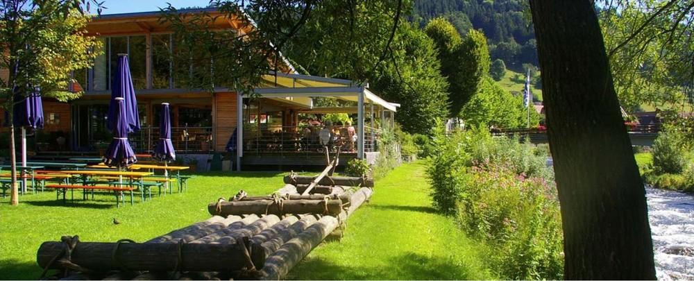 Bistro Café Flößerpark Wolfach im Kinzigtal, Schwarzwald