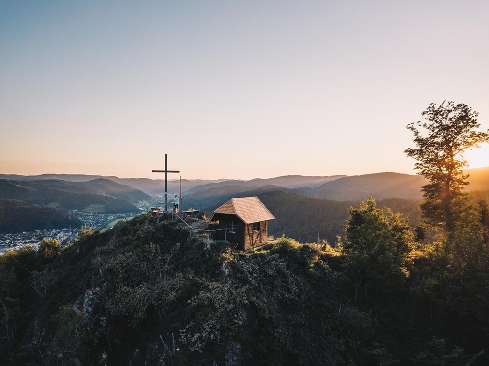 Blick über das Kinzigtal im Schwarzwald