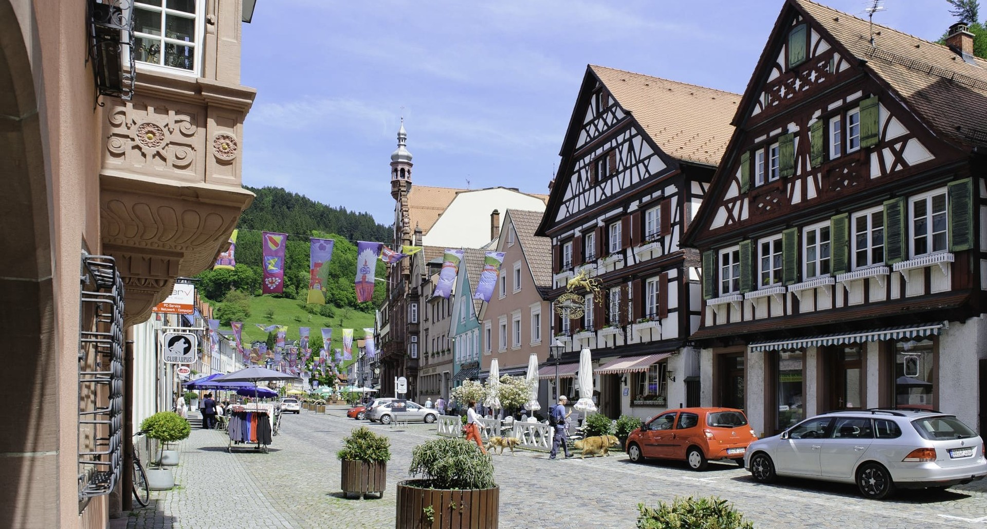 Wolfach Altstadt Hauptstraße Innenstadt