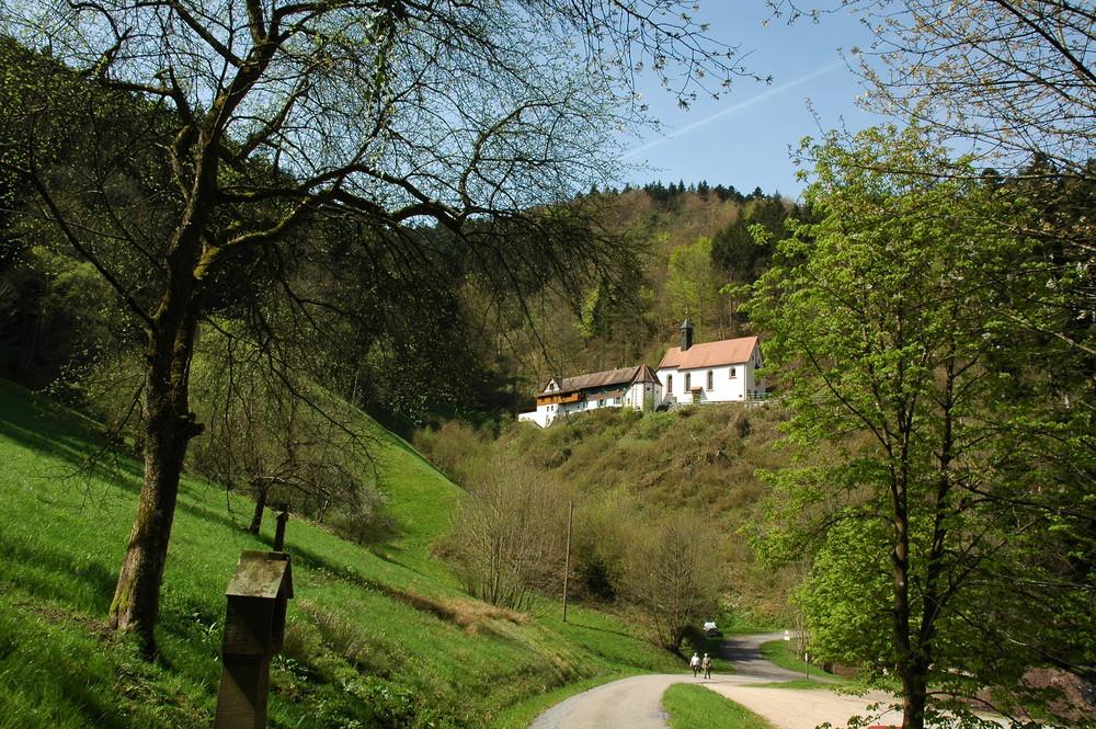 Wallfahrtskapelle Sankt Jakob bei Wolfach im Kinzigtal, Schwarzwald
