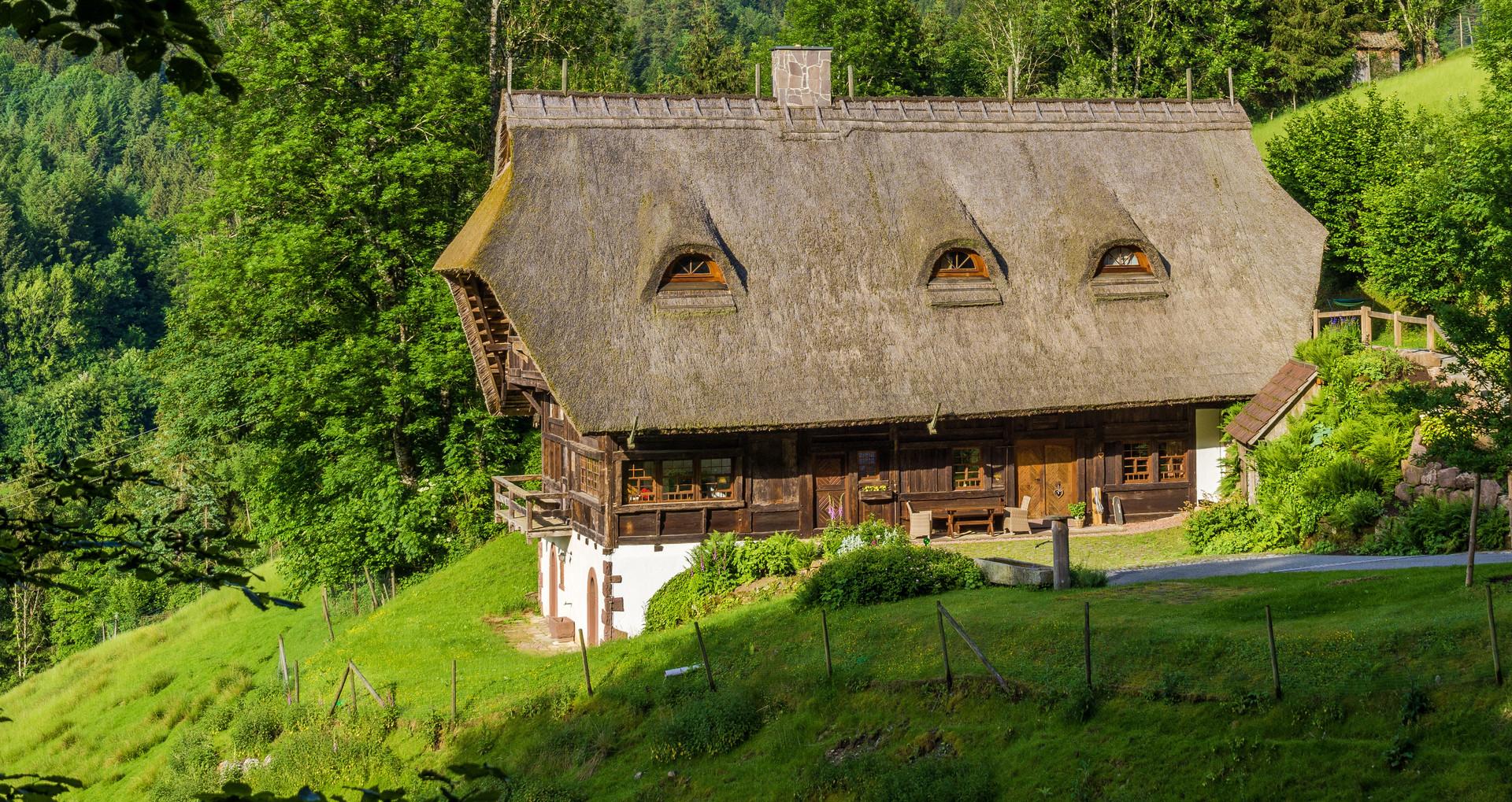 Alter Schwarzwaldhof in Kirnbach bei Wolfach im Kinzigtal