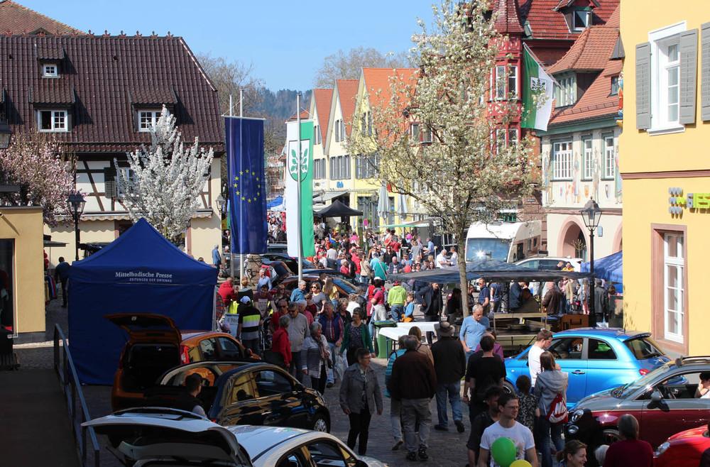 Frühlingsfest mit verkaufsoffenem Sonntag in Haslach