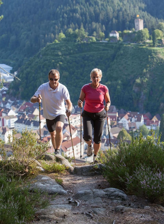Nordic Walking in Gutach im Kinzigtal
