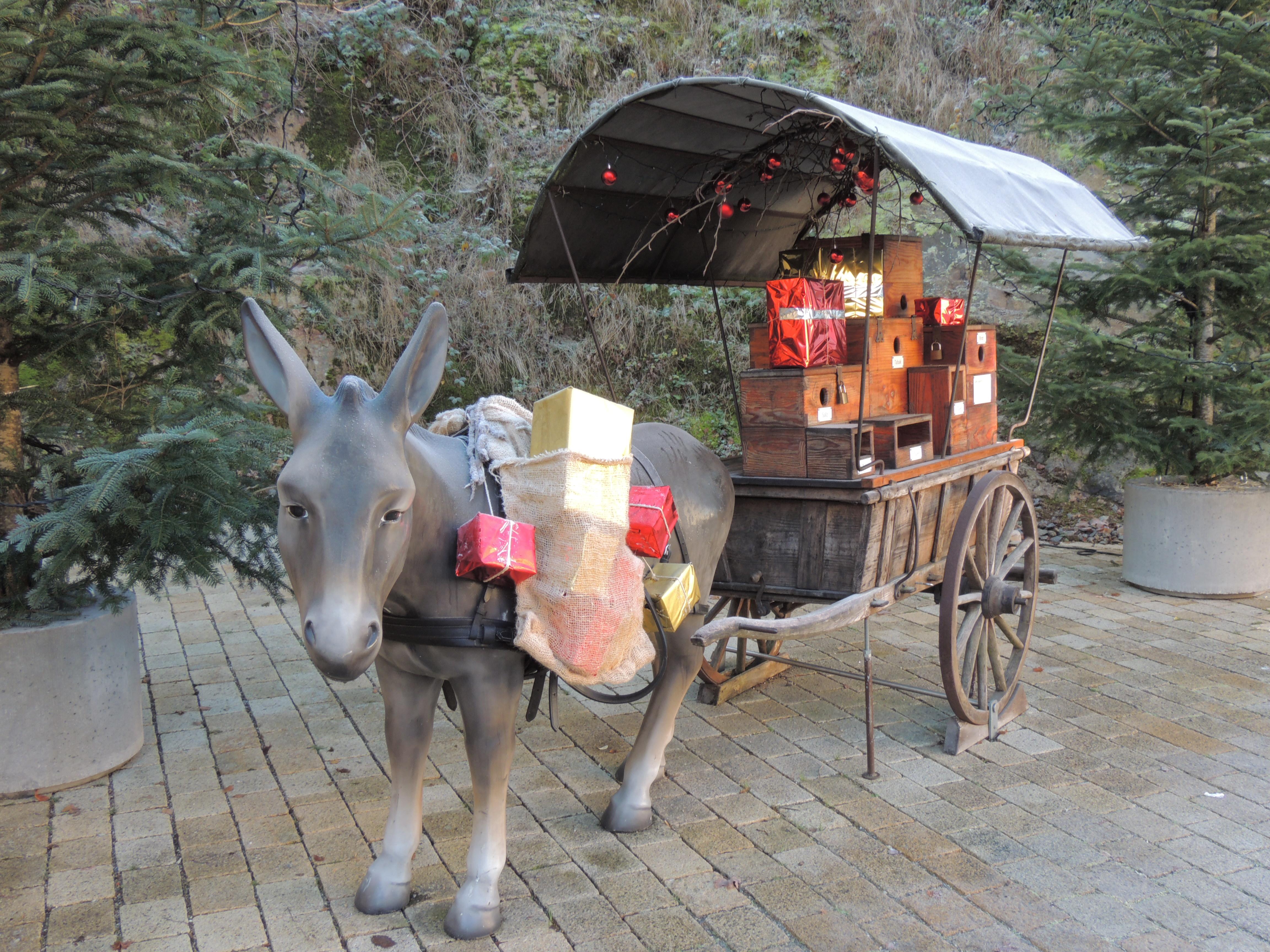 Hornberger Weihnachtsrätsel - Rätselrunde auf dem Hornberger-Schießen-Weg mit großer Verlosung