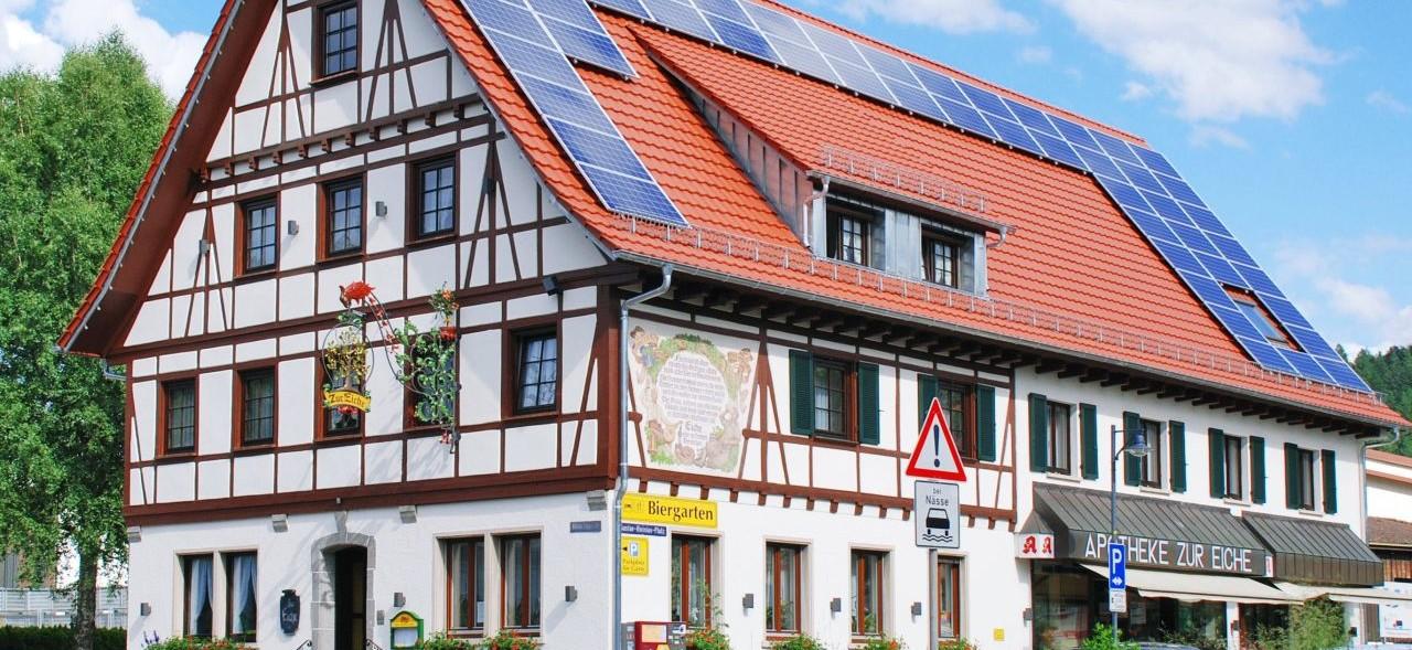 Gasthaus zur Eiche Hausach im Kinzigtal