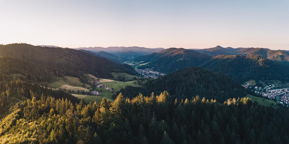 Ausblick vom Spitzfelsen im Kinzigtal