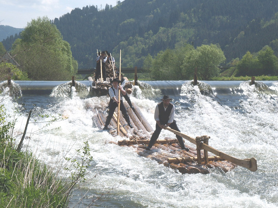Flößerei im Kinzigtal