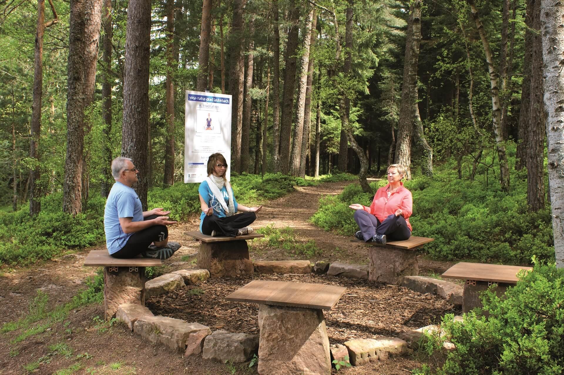 Yogapfad in Lauterbach im Kinzigtal