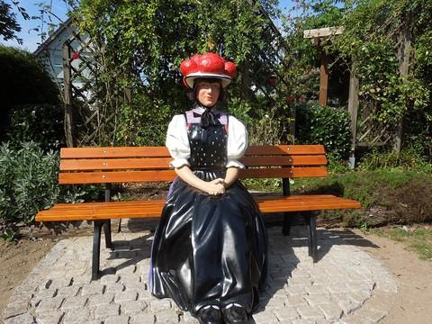 Trachtenpuppe in Gutach als Fotopunkt