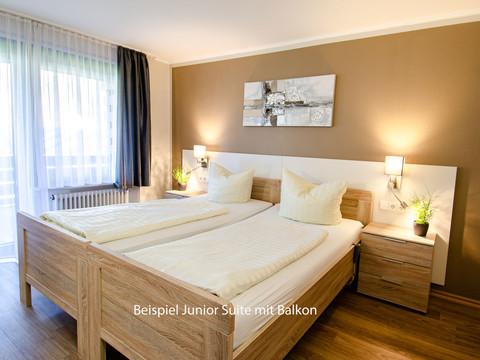 Junior Suite mit Balkon, Kurgartenhotel Wolfach