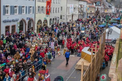 Festzug mit Festspiel in Wolfach