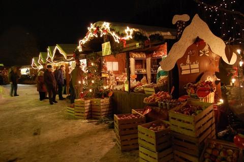 Weihnachtsmarkt im Vogtsbauernhof Gutach