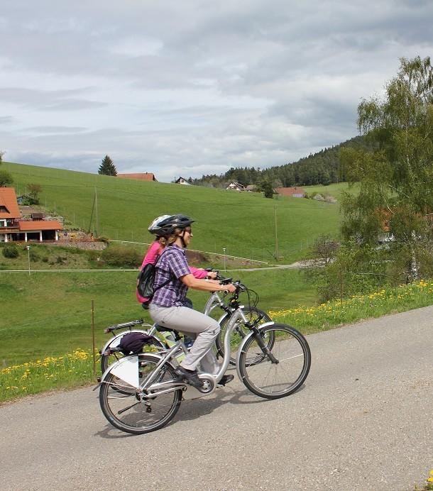 E-Bike im Kinzigtal