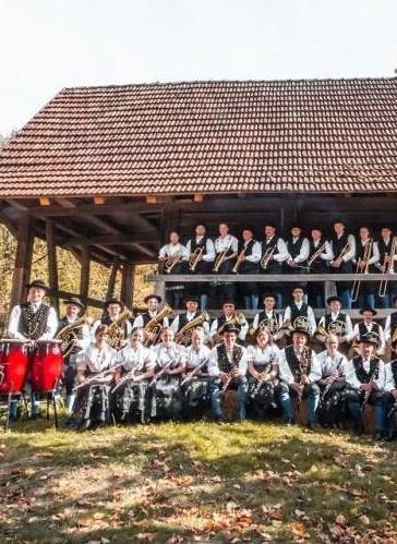 Trachtenkapelle Kinzigtal bei Wolfach im Schwarzwald