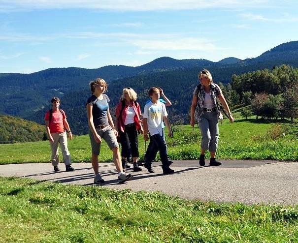 Wandern bei Wolfach im Kinzigtal, mitten im Schwarzwald
