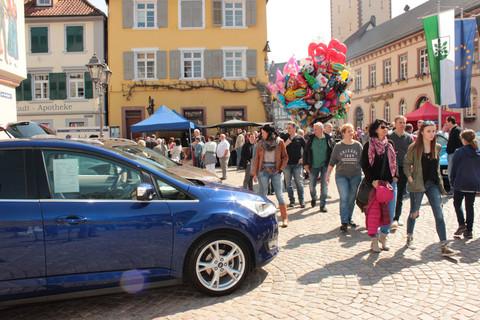 Frühlingsfest Marktplatz