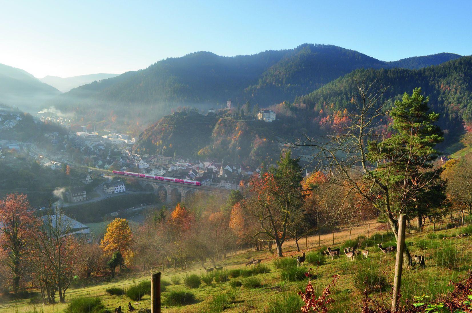 Schwarzwaldbahn Hornberg