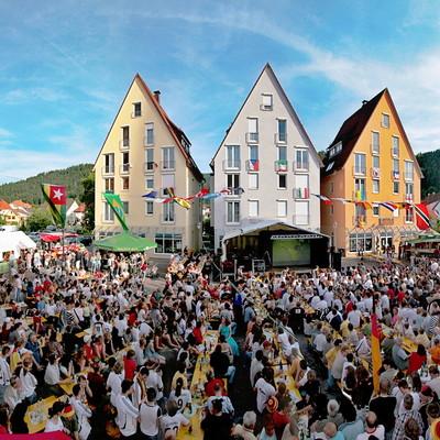 Muttertagsmarkt in Hausach auf dem Klosterplatz