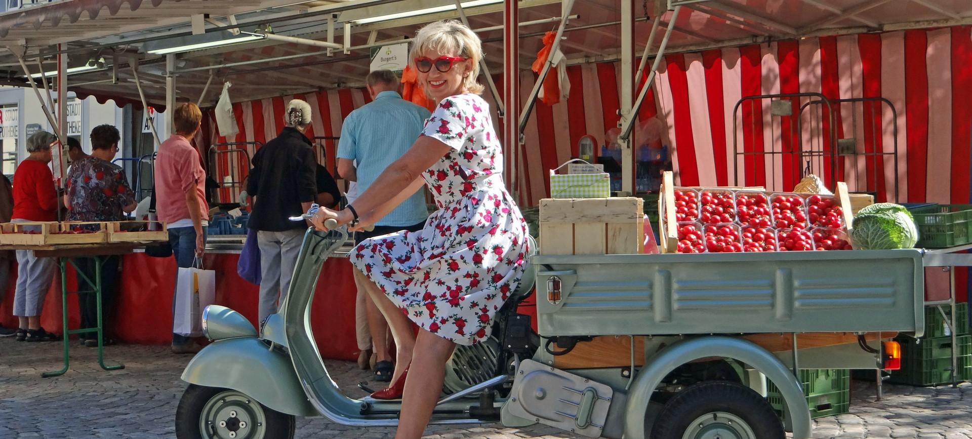 Stadtführung mit Petticoat und Brausepulver - die Wirtschaftswunderjahre in Haslach