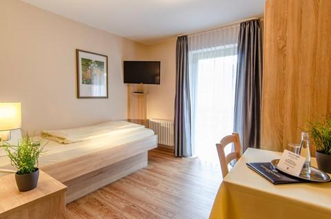 Einzelzimmer Comfort, Kurgartenhotel Wolfach