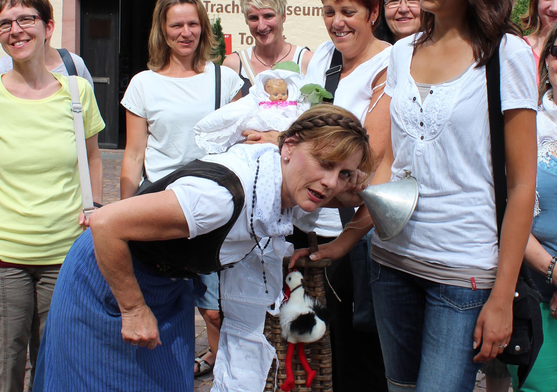 Themenführung mit Schwarzwaldguide Billy bei der Hebammen-Tour