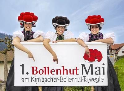 1. Bollenhut Mai am Kirnbacher-Bollenhut-Talwegele