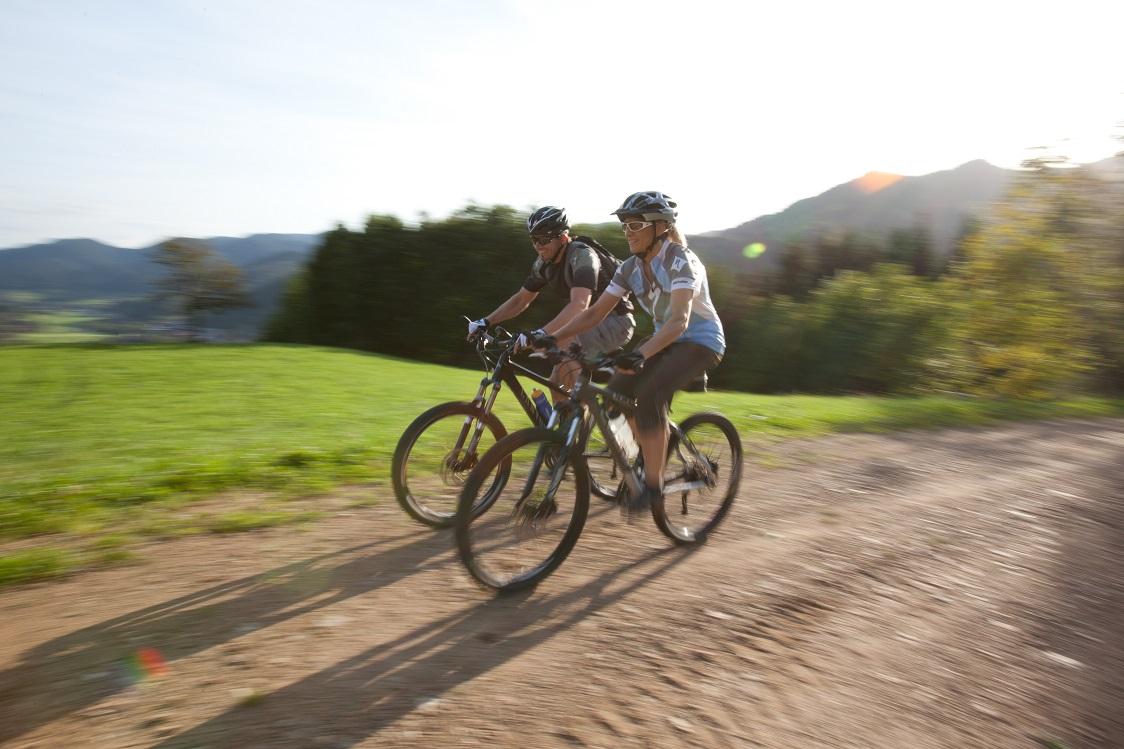 Mountainbike im Kinzigtal