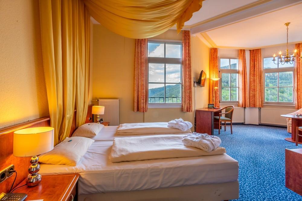 Zimmer im Schloss Hornberg