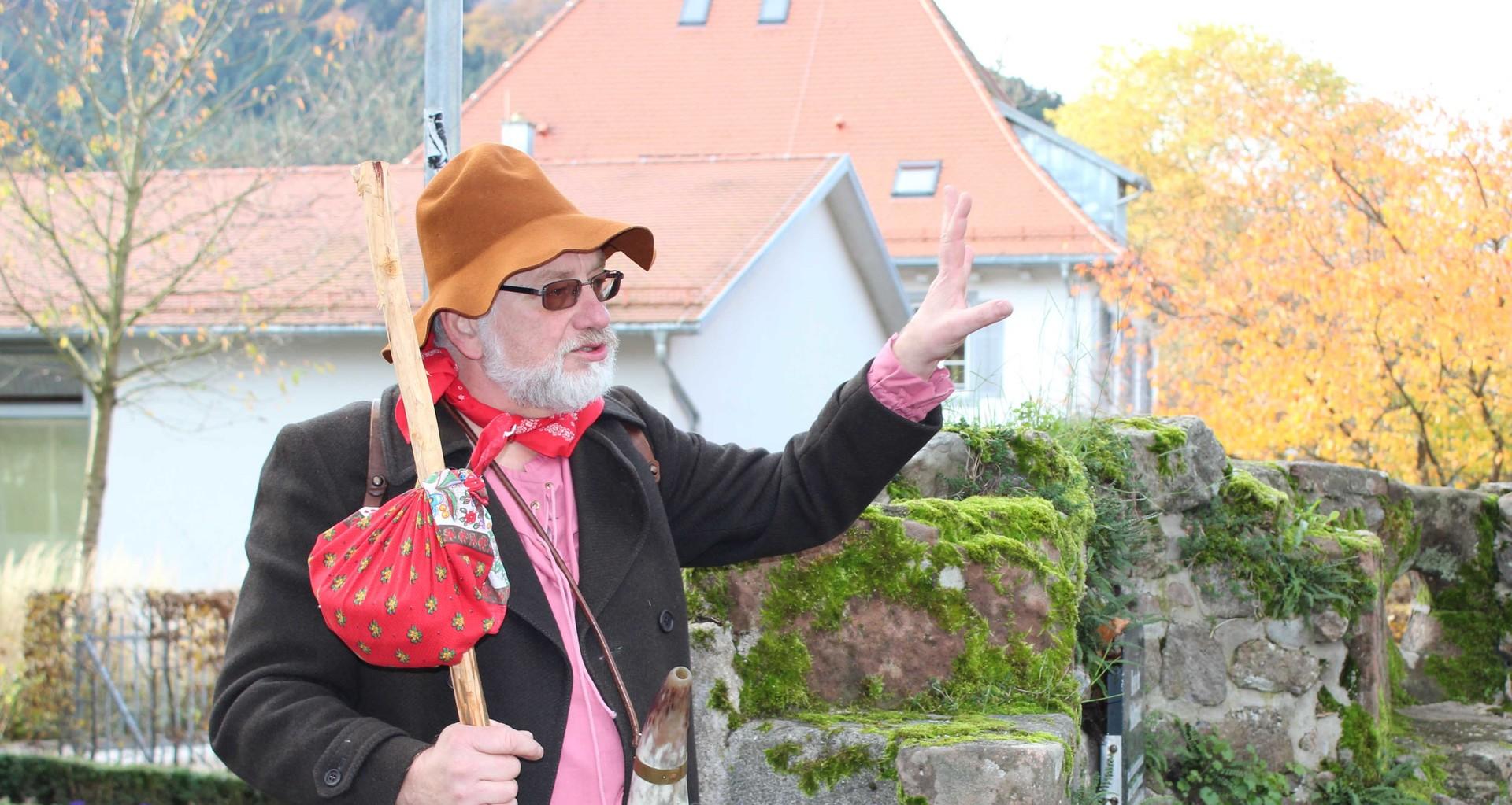 Der Sauhirt Saukarle alias Herbert Rittershofer