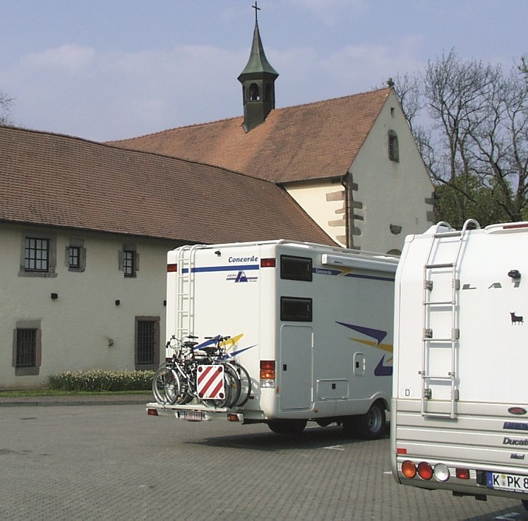 Wohnmobilstellplatz am Alten Kapuzinerkloster