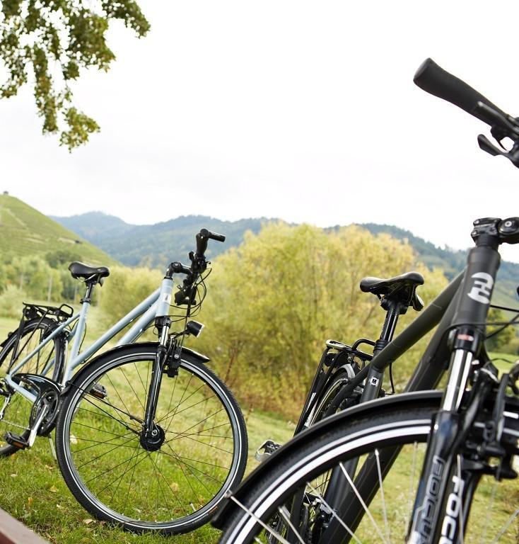 Fahrradfahren im Kinzigtal