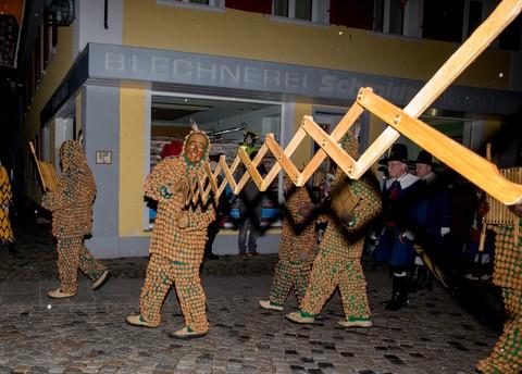 Fasnetsausrufen in Wolfach
