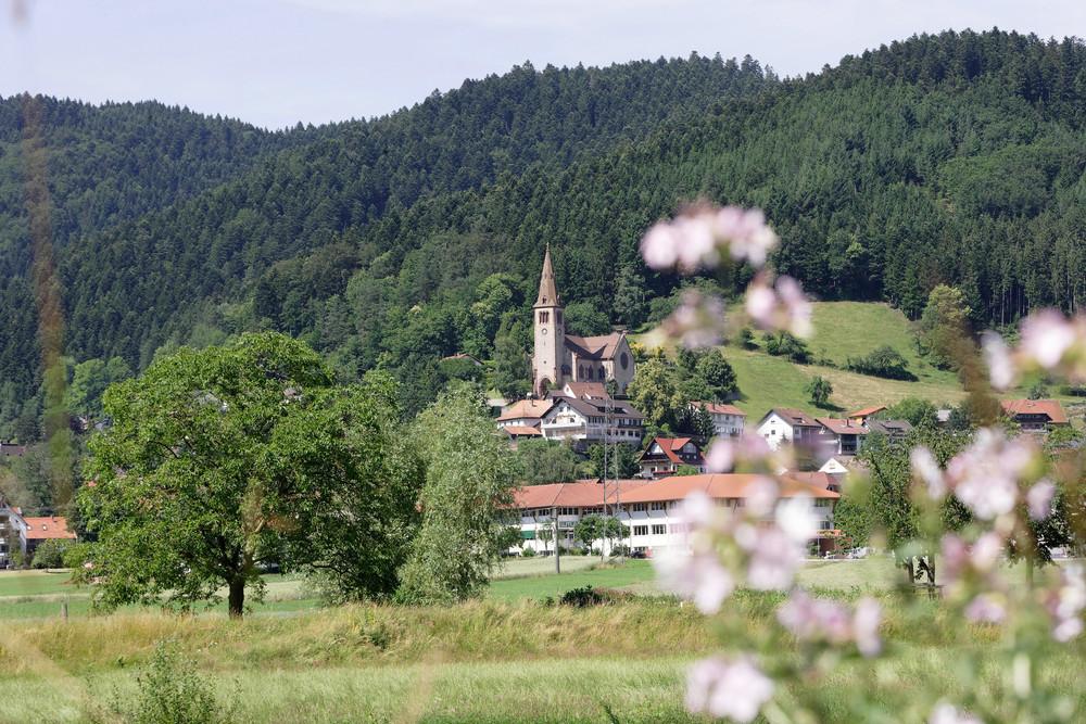 Fischerbach - Blick auf St. Michaelskirche