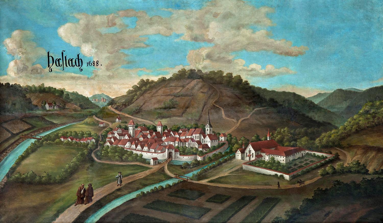 Gemälde Haslach 1688