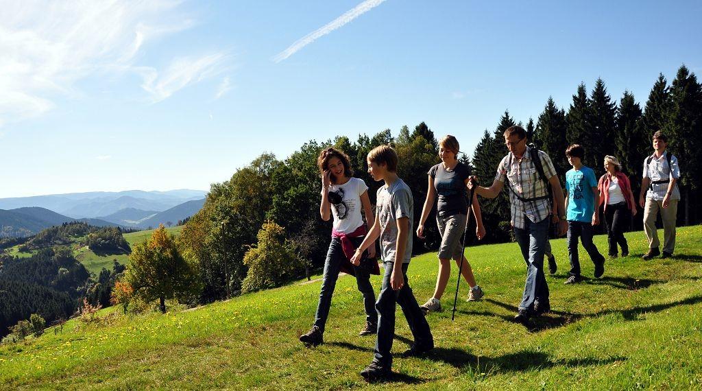 Familienwanderung bei Wolfach