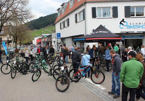 Frühlingsfest Bikeshop