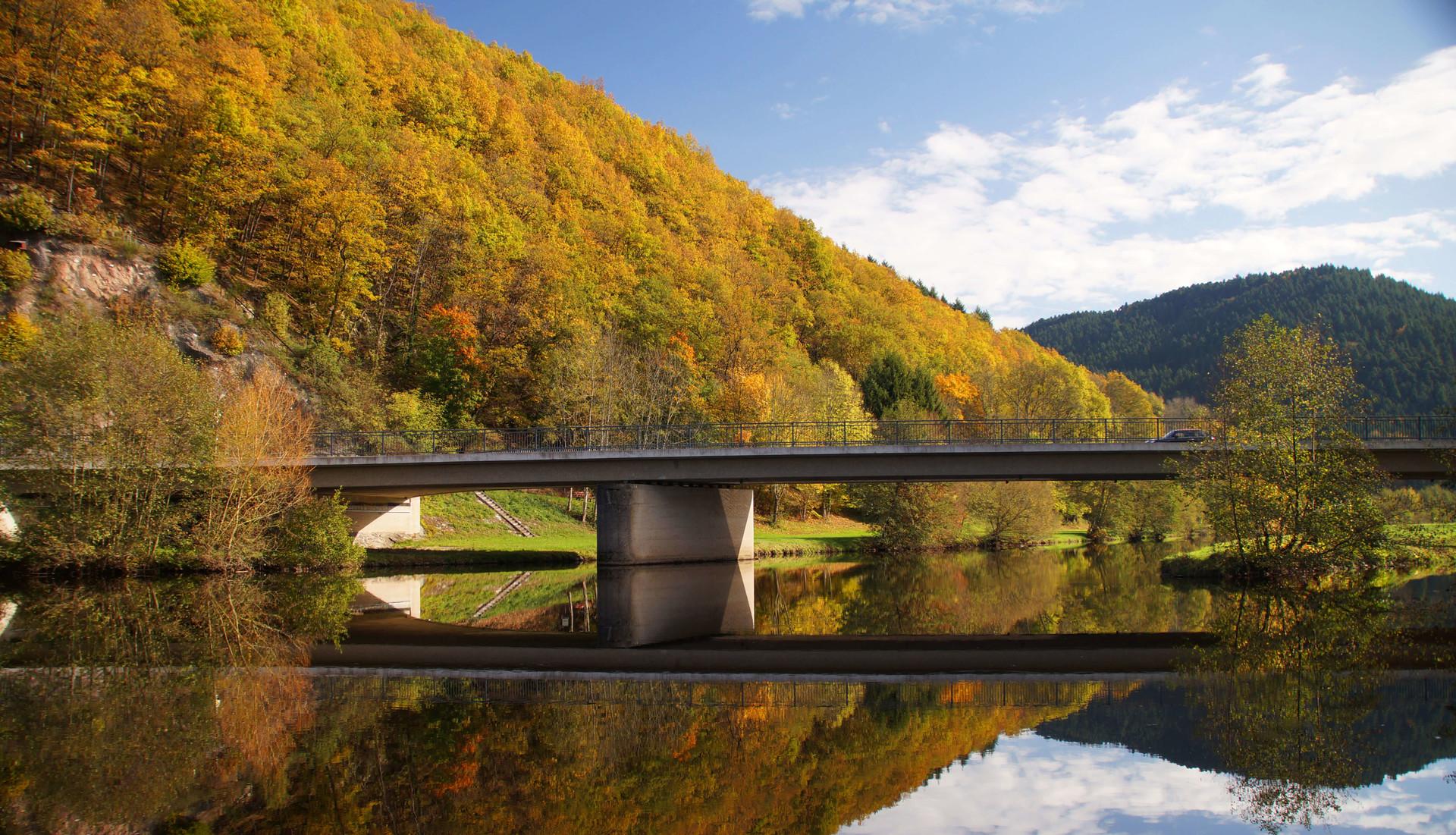 Kinzigbrücke bei Steinach im Kinzigtal
